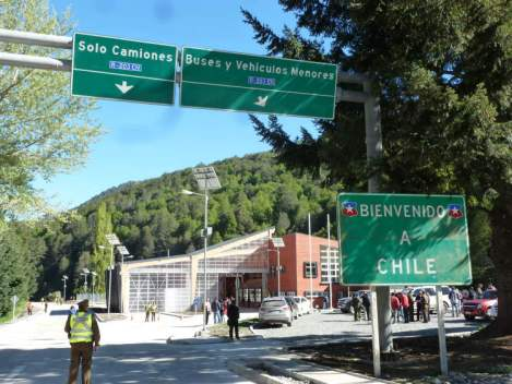 One of the Border Crossings from Argentina into Chile That I Was Researching