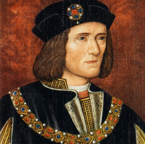Portrait of Richard III Hanging in he National Portrait Gallery