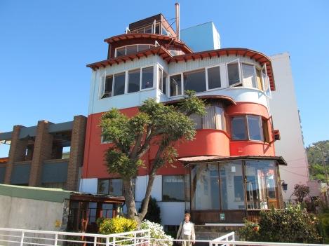 "Pablo Neruda's Home, ""La Sebastiana,"" in Valparaíso"