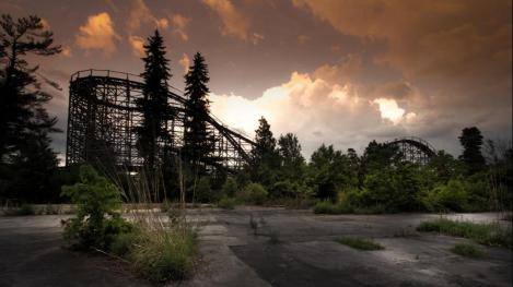 The Abandoned Amusement Park of My Youth