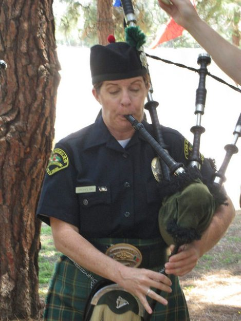 LAPD Emerald Society Piper