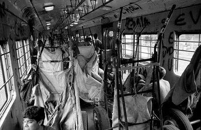 Aboard the Tren Blanco