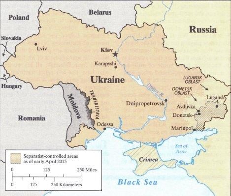 April 2015 Status Map