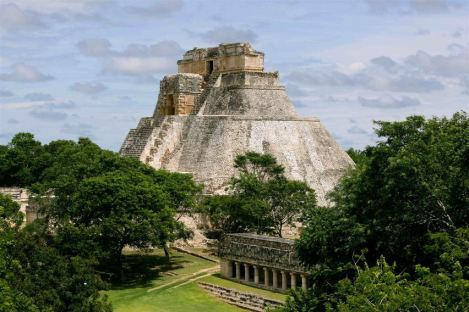 Temple of the Dwarf at Uxmal