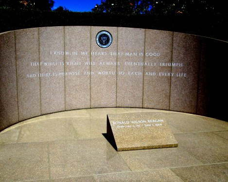 The Tomb of President Ronald Reagan