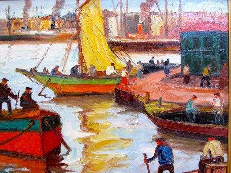 He Was the Painter of the Port of Buenos Aires