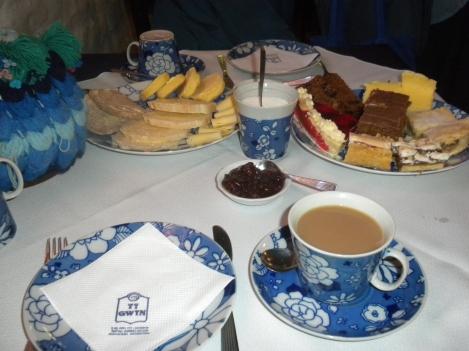 A Welsh Tea at the Ty Gwyn Teahouse in Gaiman