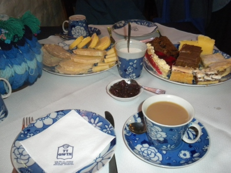 A Welsh Tea at the Ty Gwyn Teahouse in Gaiman