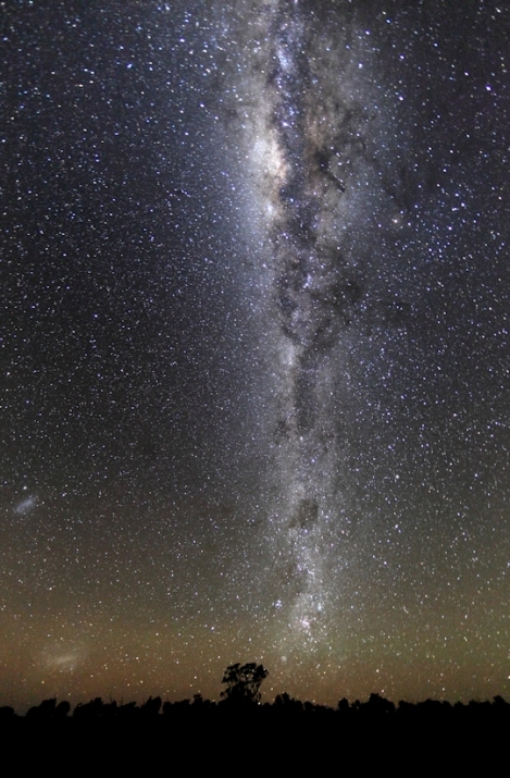 The Milky Way from Australia -