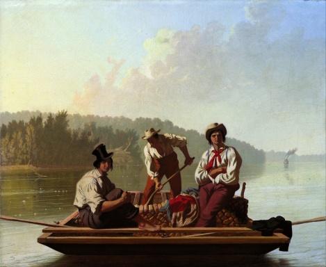 """Boatmen on the Missouri"""