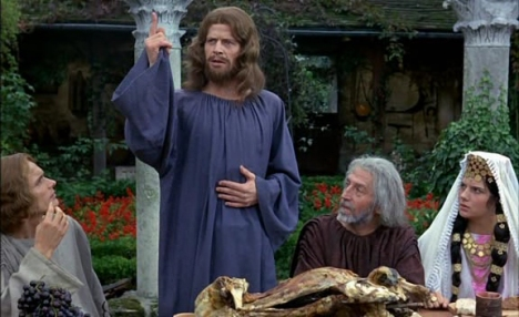 Christ (Bernard Verley) at the Miracle of Cana