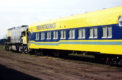 An Overnight Train Trip Clear Across Patagonia