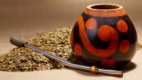 Traditional Yerba Mate Tea Popular in South America