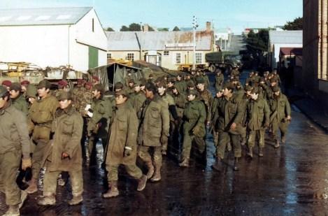 Argentine Prisoners of War in Port Stanley, 1982