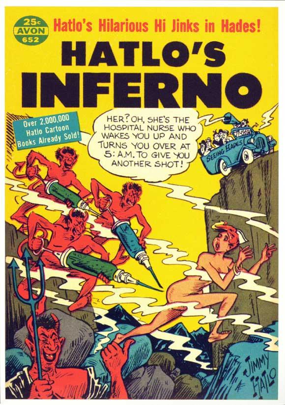 Hatlo's Inferno Cartoon
