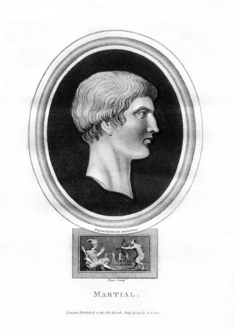 Roman Poet Marcus Valerius Martialis