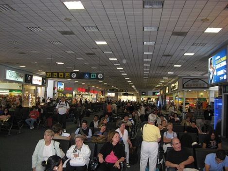 Benito Juarez Airport in Mexico City