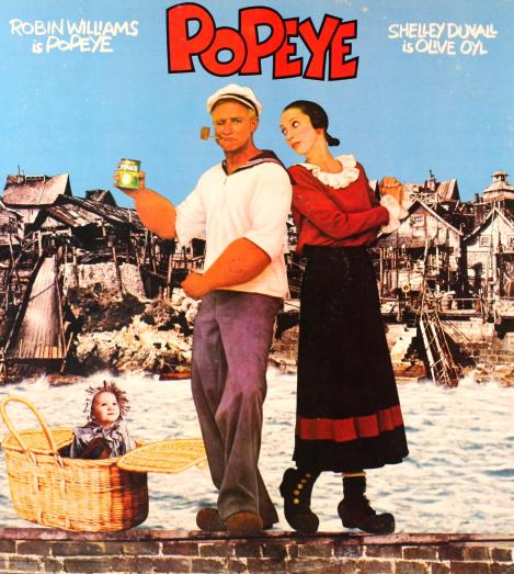 Poster for Robert Altman's Popeye (1980)