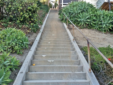 One of the Stairs of Silverlake