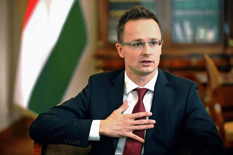Hungarian Minister of Foreign Affairs Péter Szijjártó