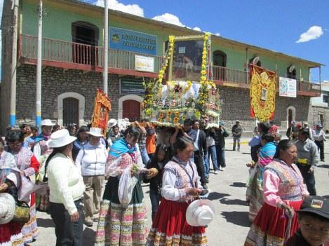 Religious Festival in Chivay