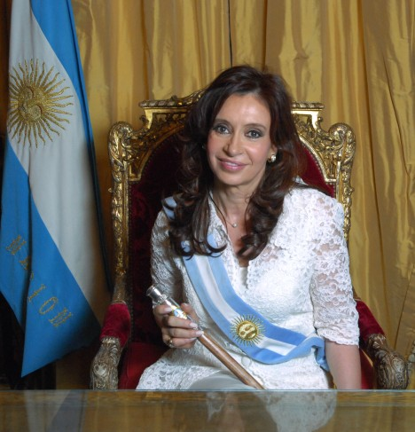 Official Photo of Argentinian President Cristina Fernández de Kirchner