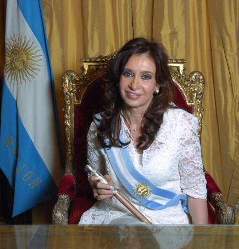 Official Photo of Argentinian President Cristina Fernández de Kirchner