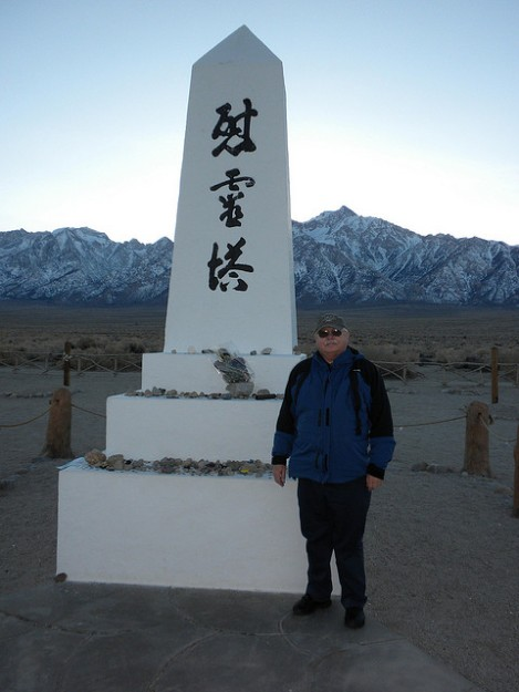 Monument to Manzanar's Dead