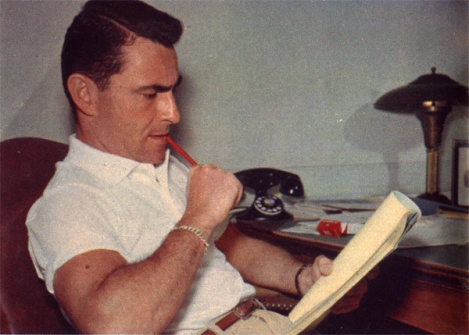Rod Serling at Work