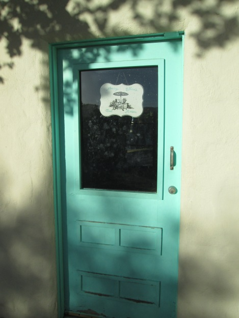 The Door to Mary Ellen's Little Tea House