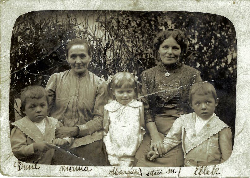 My Father's Side of the Family Around 1918