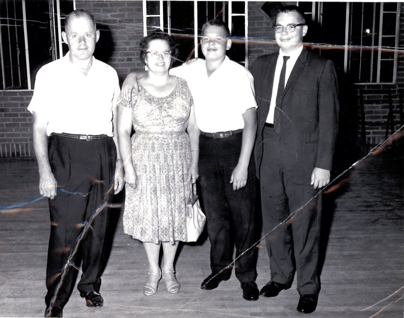 Our Family Around 1962
