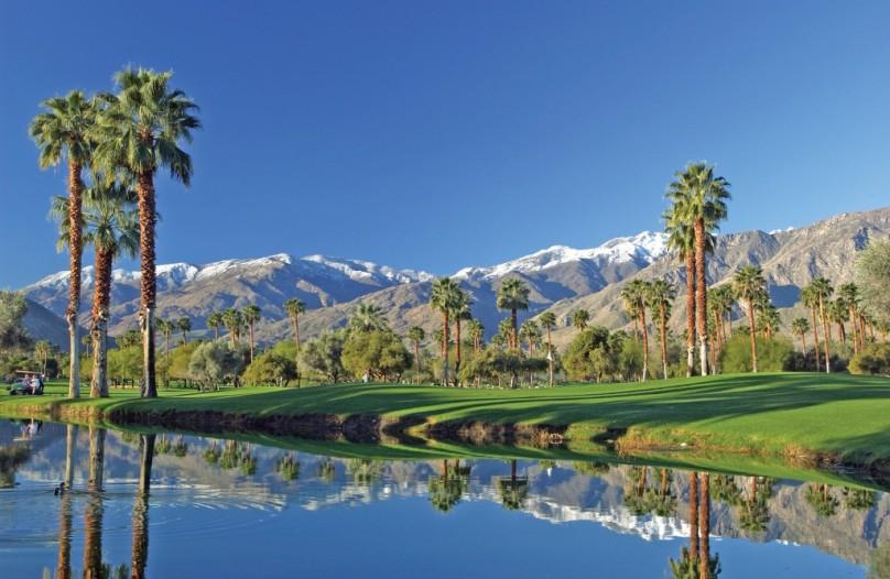 The Area Around Palm Springs