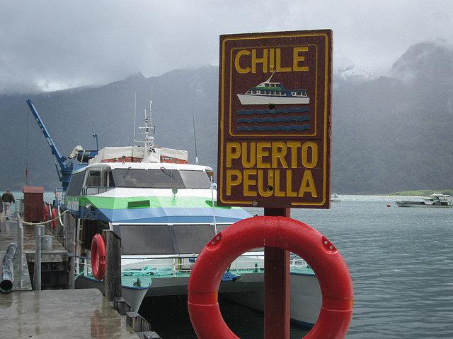 Puerto Peulla on Chile's Lago Todos Santos