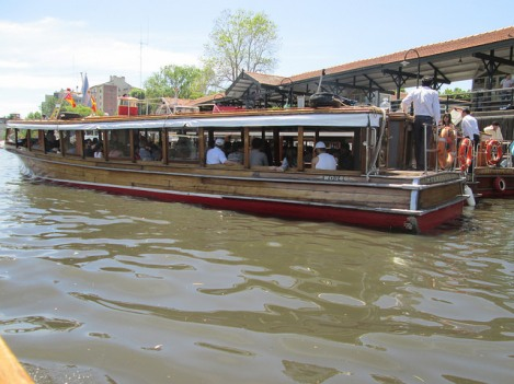 Cruising the Delta of the Paraná in a Launch