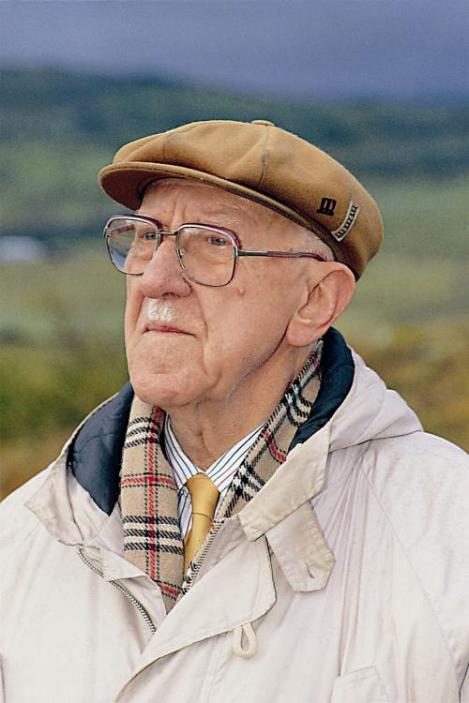 Icelandic Author Halldór Laxness (1902-1998)