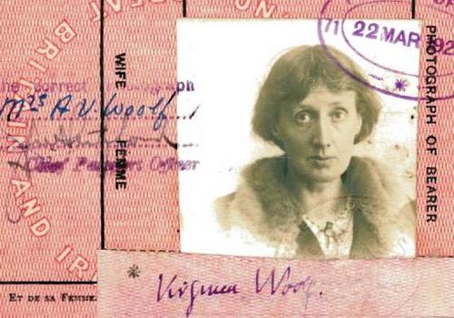 British Author Virginia Woolf