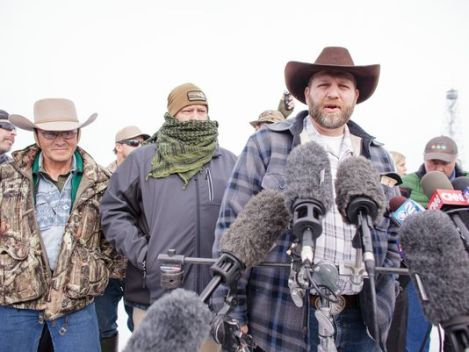 Ammon Bundy and His Motley Crüe