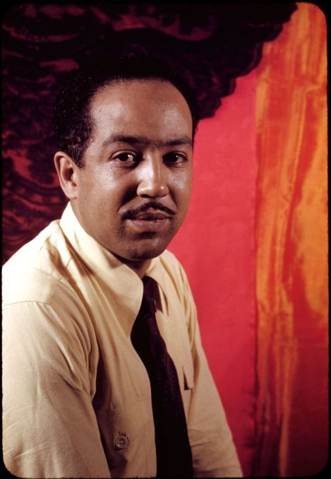 Poet Langston Hughes (1902-1967)