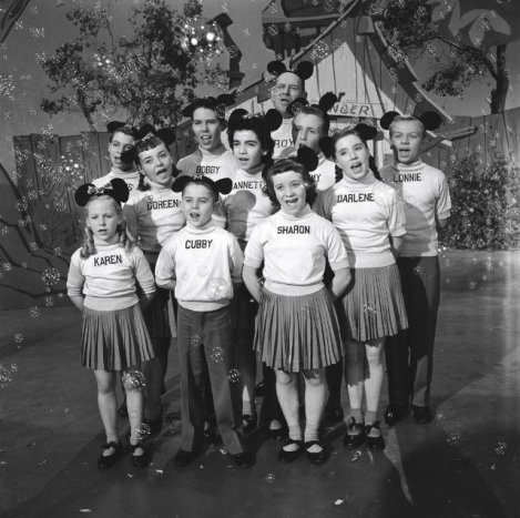Mousketeers with Jimmie Dodd