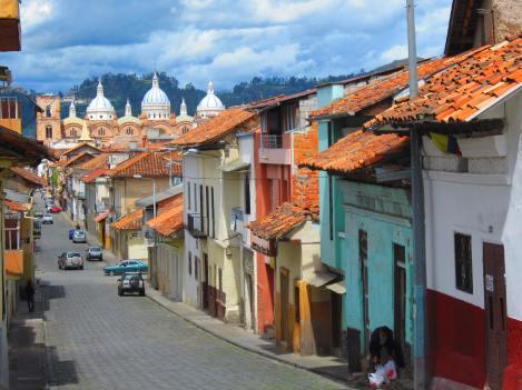 Street Scene, Cuenca, Ecuador