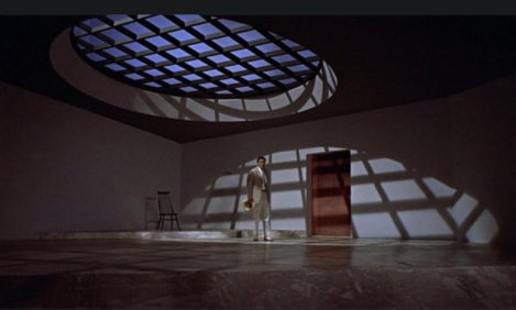"Doctor No's ""Reception Room"" in the Film of the Same Name"