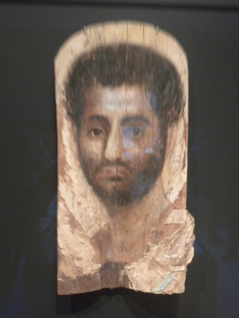 Mummy Portrait of Deceased