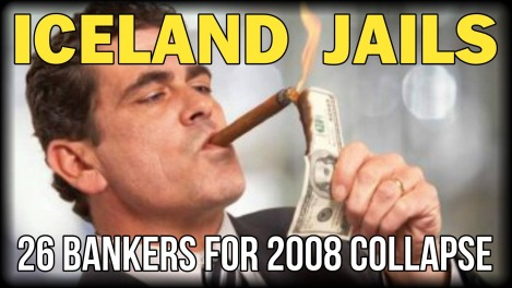 In Iceland 26 Bankers Are Serving Time Behind Bars