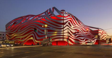 The Redesigned Petersen Automotive Museum