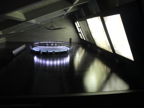 Kubrick's War Room in Doctor Strangelove