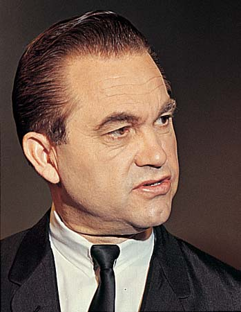 Alabama Governor and Presidential Candidate George C. Wallace (1919-1998)