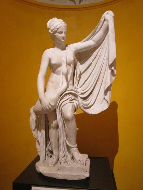 Roman Statue Depicting Leda and the Swan