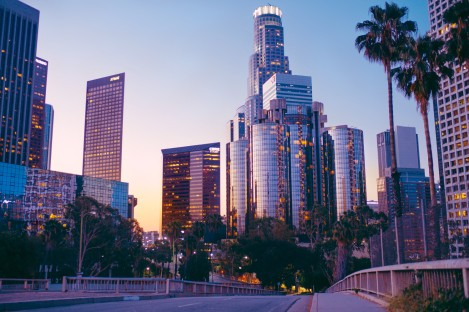Downtown L.A. Financial District
