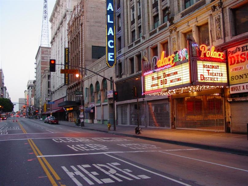 The Palace Theater on Broadway